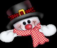 Snow Man PNG Free Download 7