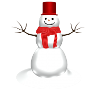 Snow Man PNG Free Download 8