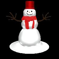 Snow Man PNG Free Download 8