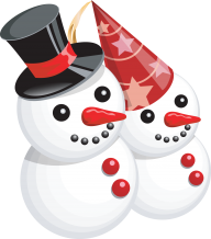 Snow Man PNG Free Download 9
