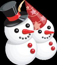 Snow Man PNG Free Download 9