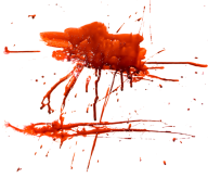 sparyed blood free png download