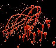 splashed flow blood free png download (2)