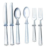 Spoon Knife and Fork Png Image