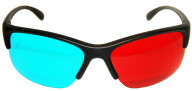 sunglasses blue and red