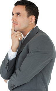 Thinking Man PNG Free Download 15