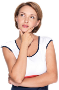 Thinking Woman PNG Free Download 11