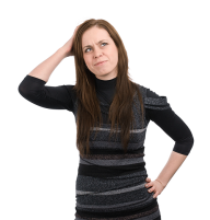 Thinking Woman PNG Free Download 14