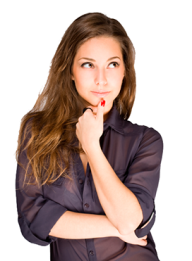 Thinking Woman PNG Free Download 16
