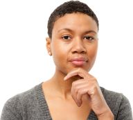 Thinking Woman PNG Free Download 19
