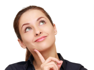 Thinking Woman PNG Free Download 26