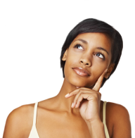Thinking Woman PNG Free Download 27