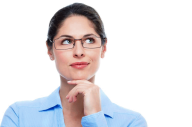Thinking Woman PNG Free Download 4