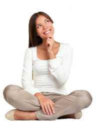 Thinking Woman PNG Free Download 6