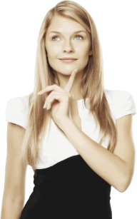 Thinking Woman PNG Free Download 9