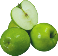 Three Apple One Cutted Png
