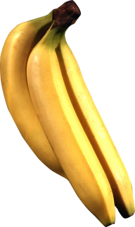 three banana png