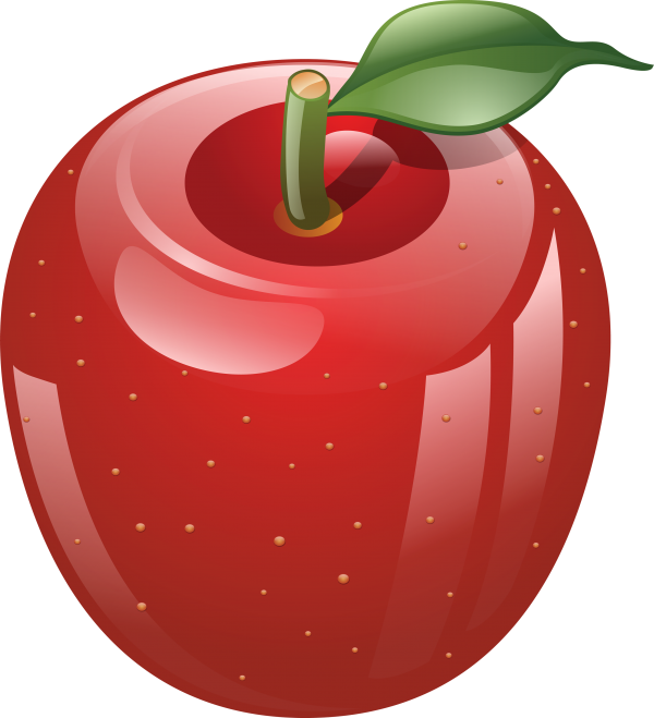 3D Apple Icon Png
