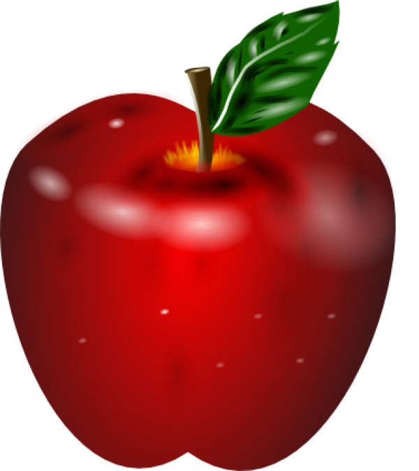 3D Apple Png