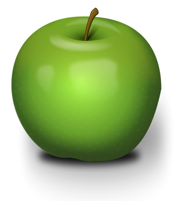 Apple png Green color