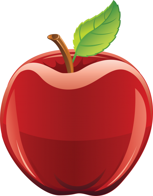 Apple png using Illustrator