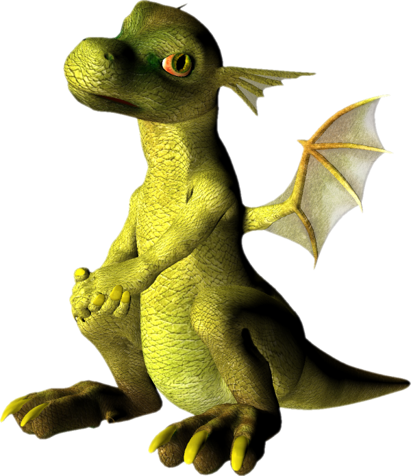 baby dragon png