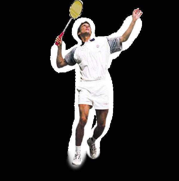 badminton play PNG