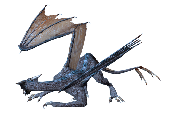 dragon 3d art png