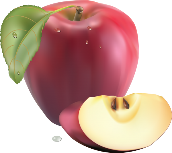 Drawn Apple png icon