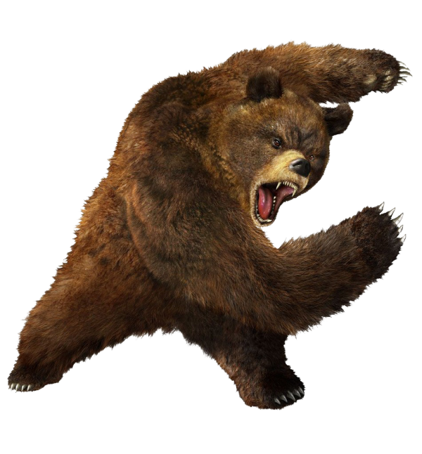 Ferocious Png Bear Free Download