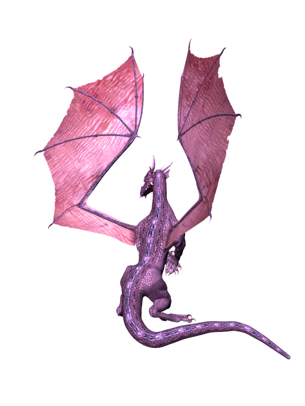 flying dragon 3d art png