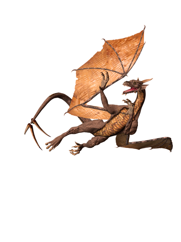 free dragon 3d art png