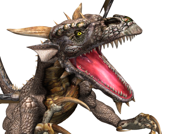 free dragon png 3d art download