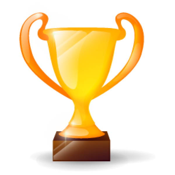 Golden Cup 3D Icon