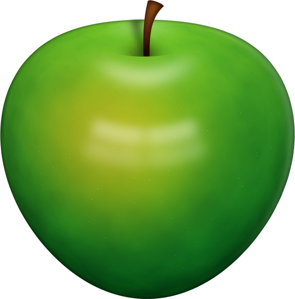 Green Apple Icon Clipart