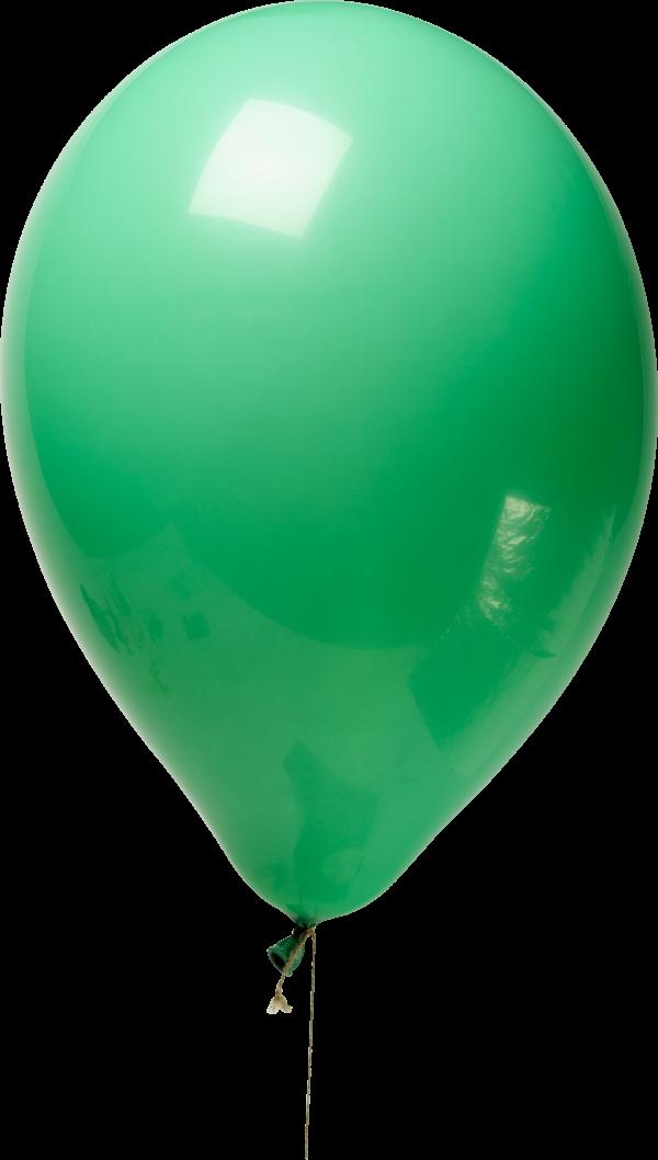 Green Balloon Png