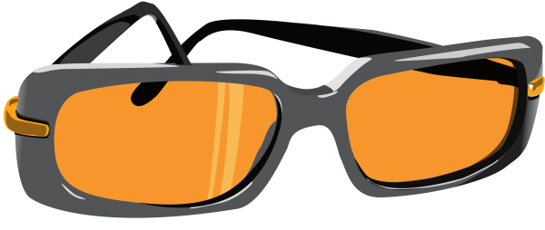 orange clipart specks