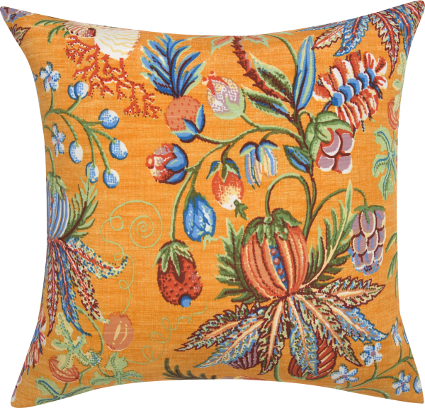 Pillow Png yellow with Design
