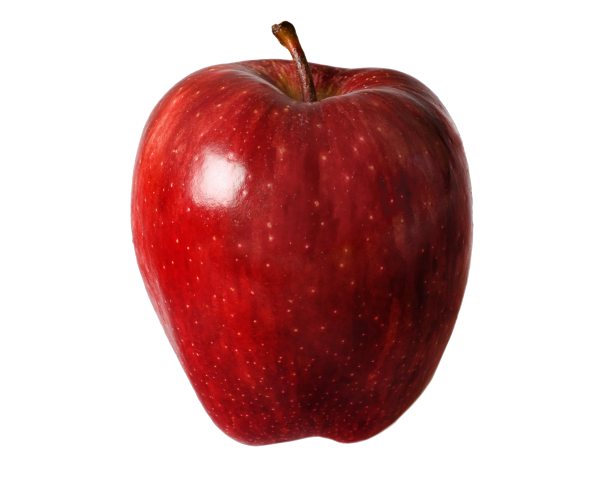 Plastic Moulded Apple Png