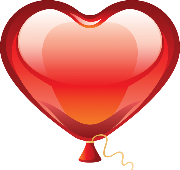 Red Color Balloon Icon