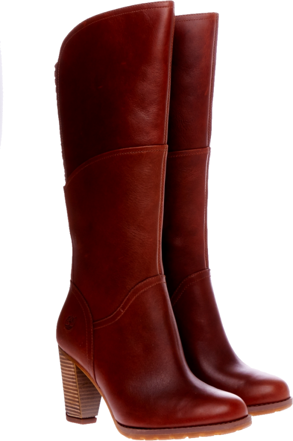 red ladies boots png