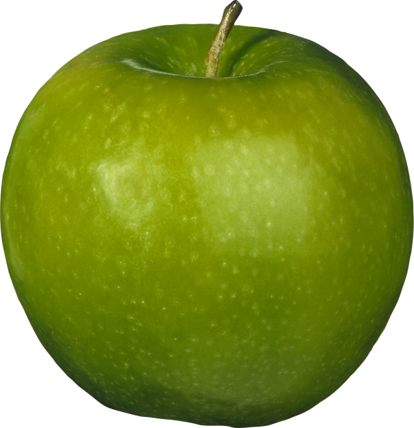 Round Green Apple Png
