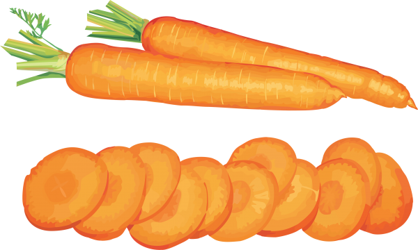 Sliced Carrot Png