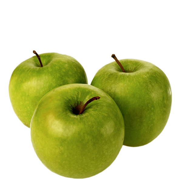 Three Green Apples Png