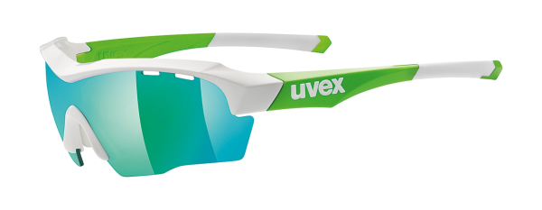 uvex blue and green frame sunglasses