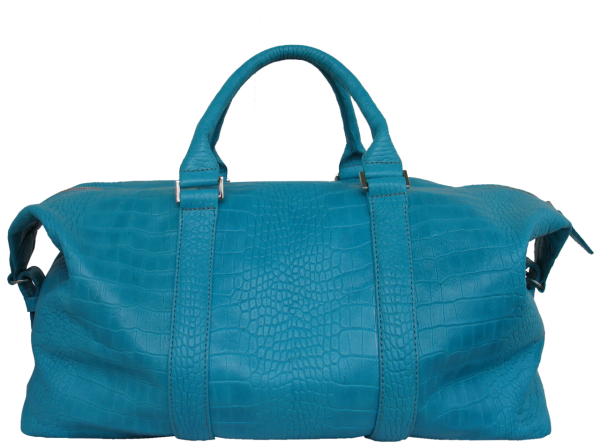 Womens Leather Blue Bag Png