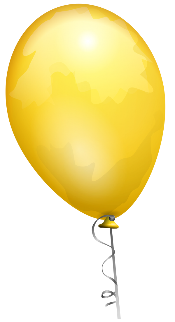 Yellow Balloon Png