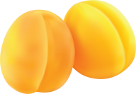Two Apricot Png
