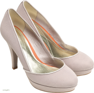 white classic heelshoe free png download