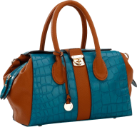 women fancy blue handbag free png download